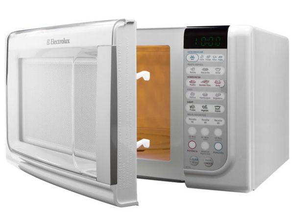 microondas electrolux 23 litros mef33 branco 127 volts. Black Bedroom Furniture Sets. Home Design Ideas